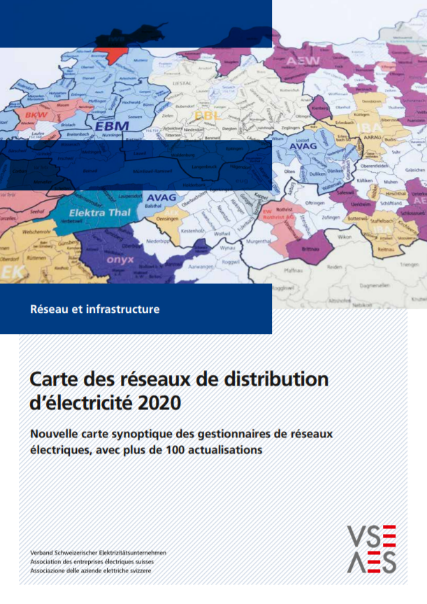 Strom-Verteilnetzkarte